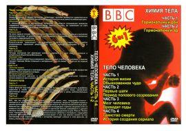 для увеличения обложки DVD диска нажмите на рисунок. Скачать обложку для DVD видео BBC Тело Человека, фильм БиБиСи: Тело Человека